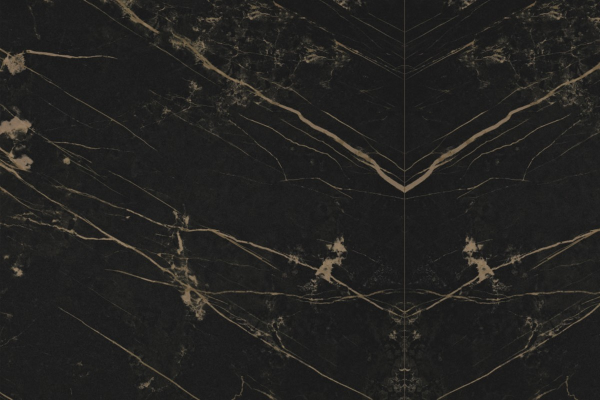 Marble Effect Tiles Black Porcelain Stoneware With Mass Colouri