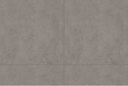 Concrete effect floor tiles - Lead grey