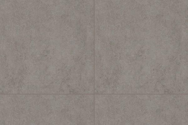 Concrete effect floor tiles - Lead grey