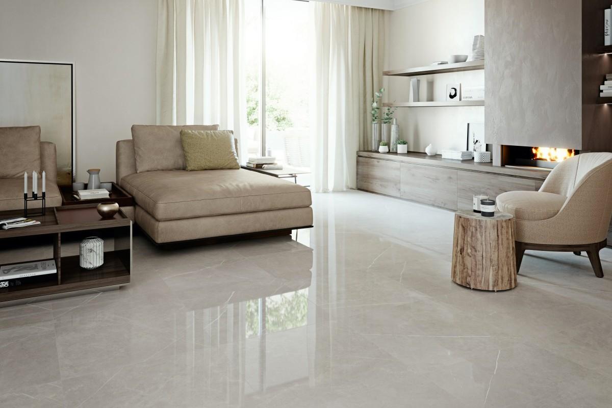Pavimento Finto Marmo Lucido marmo lucido hermes grey