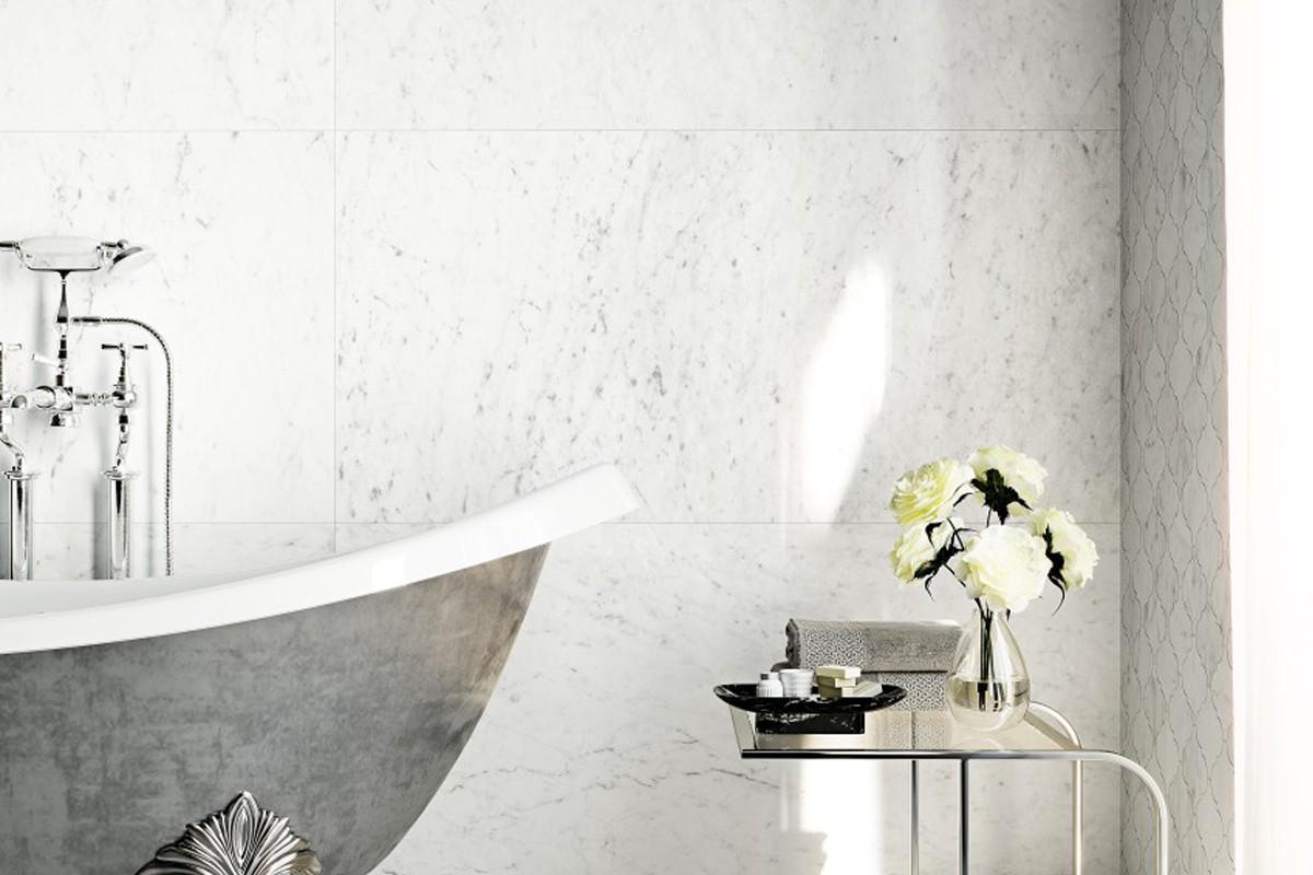 Salle De Bain Marbre De Carrare marbre de carrare brilliant white - gma 6004 59x59