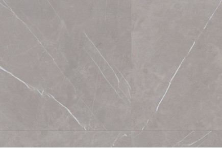 Glänzender hermes grau marmor