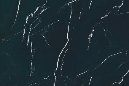 Glänzender schwarz marmor