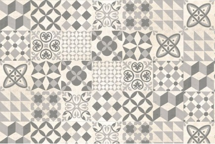 Decor vintage taupe wall tiles