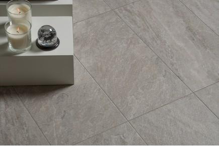 Gres cérame effet pierre ciment