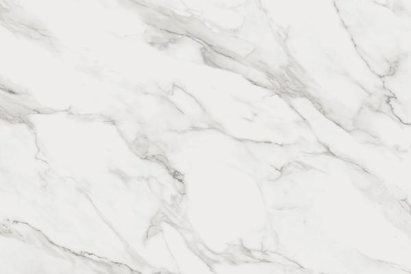 Calacatta semi polished marble