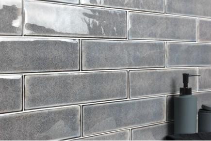 Sparkling Brick tiles - smoke