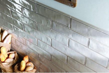Sparkling Brick tiles - ecru