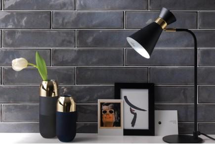 Sparkling Brick tiles - grey