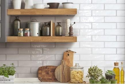Sparkling Brick tiles - white