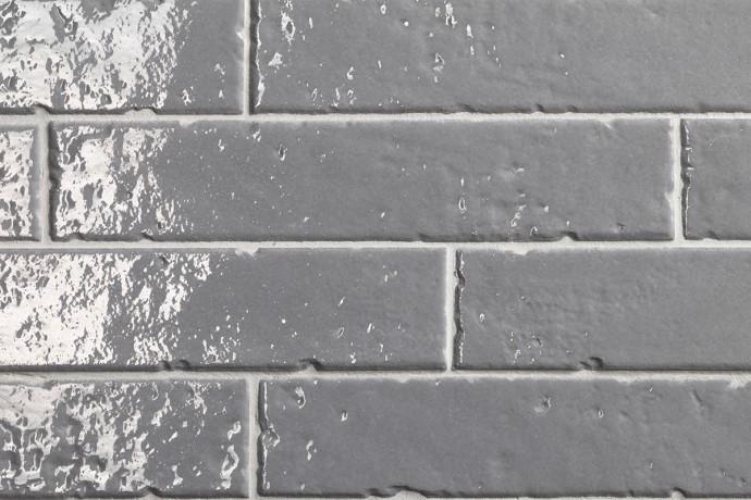 London glossy brick tiles - clay