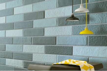 Light blue shaded brick