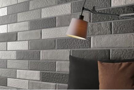 Brown shaded brick