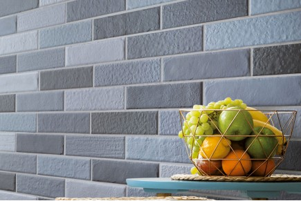Cobalt shaded brick