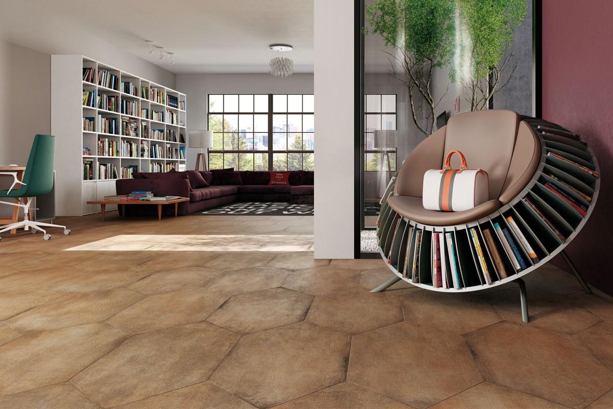 Art Deco Lozenge Tile Cotto Glazed Porcelain Stoneware Antisl