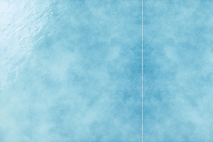 Retrò light blue plain tile