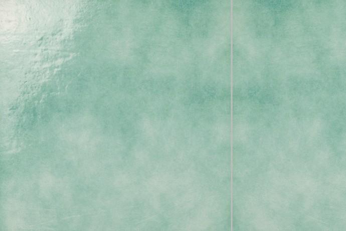 Retrò green plain tile
