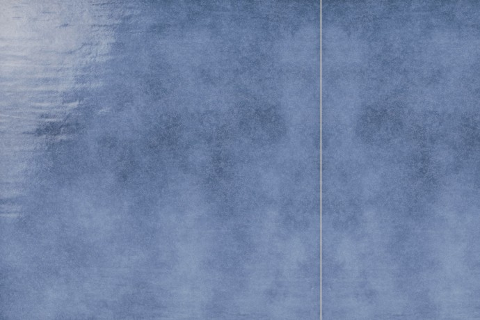 Retrò blue plain tile