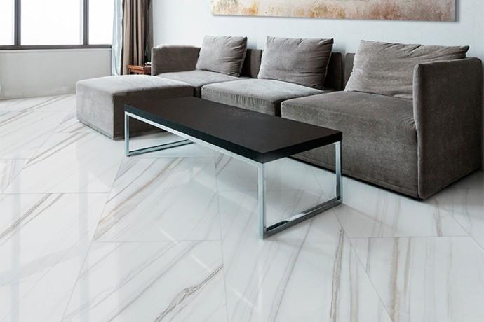 Glänzender golden ader marmor