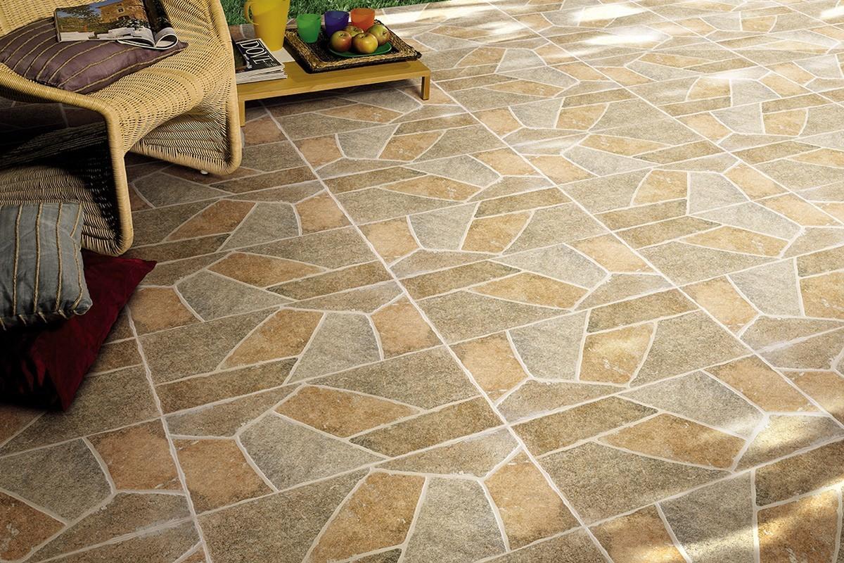 Pavimenti per esterni maxima beige 30 2x60 4 ceramiche armonie by a - Piastrelle da esterno 50x50 prezzi ...