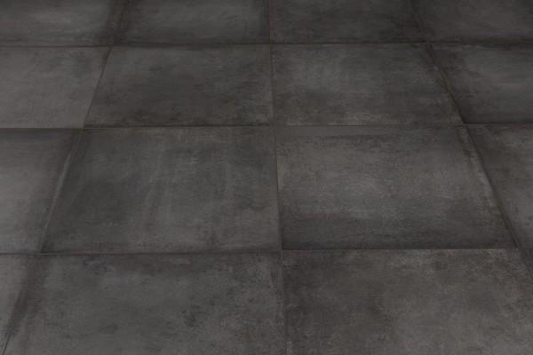 Carrelage int rieur contemporain antonium antracite for Carrelage interieur 60x60