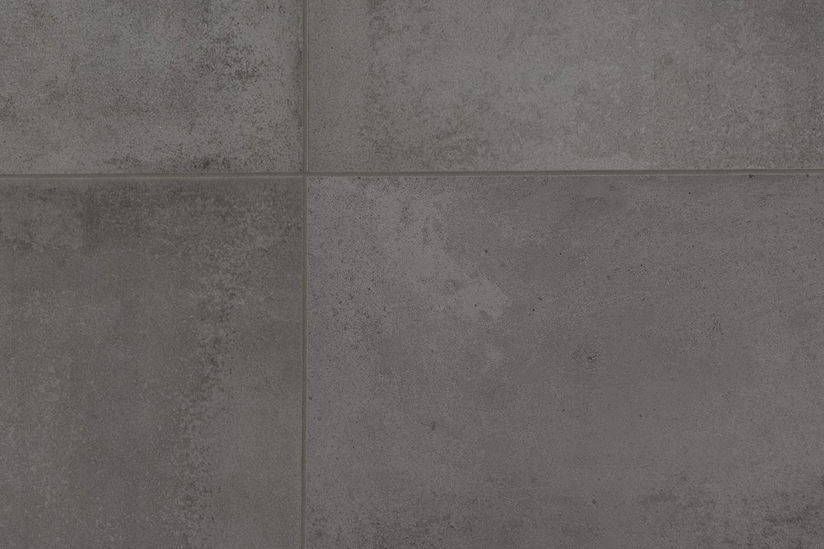 Gres porcellanato effetto moderno antonium cenere 60x60 ceramiche c - Piastrelle effetto metallo ...