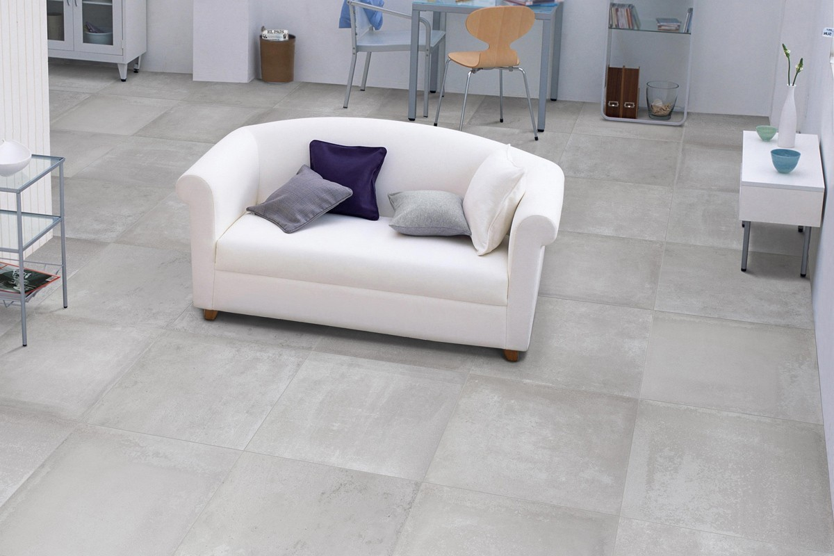 Carrelage int rieur contemporain antonium grigio 60x60 for Carrelage interieur
